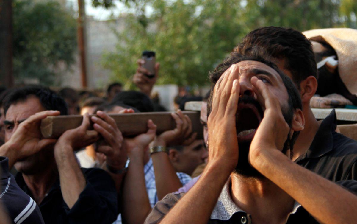 (AP/Khalil Hamra)