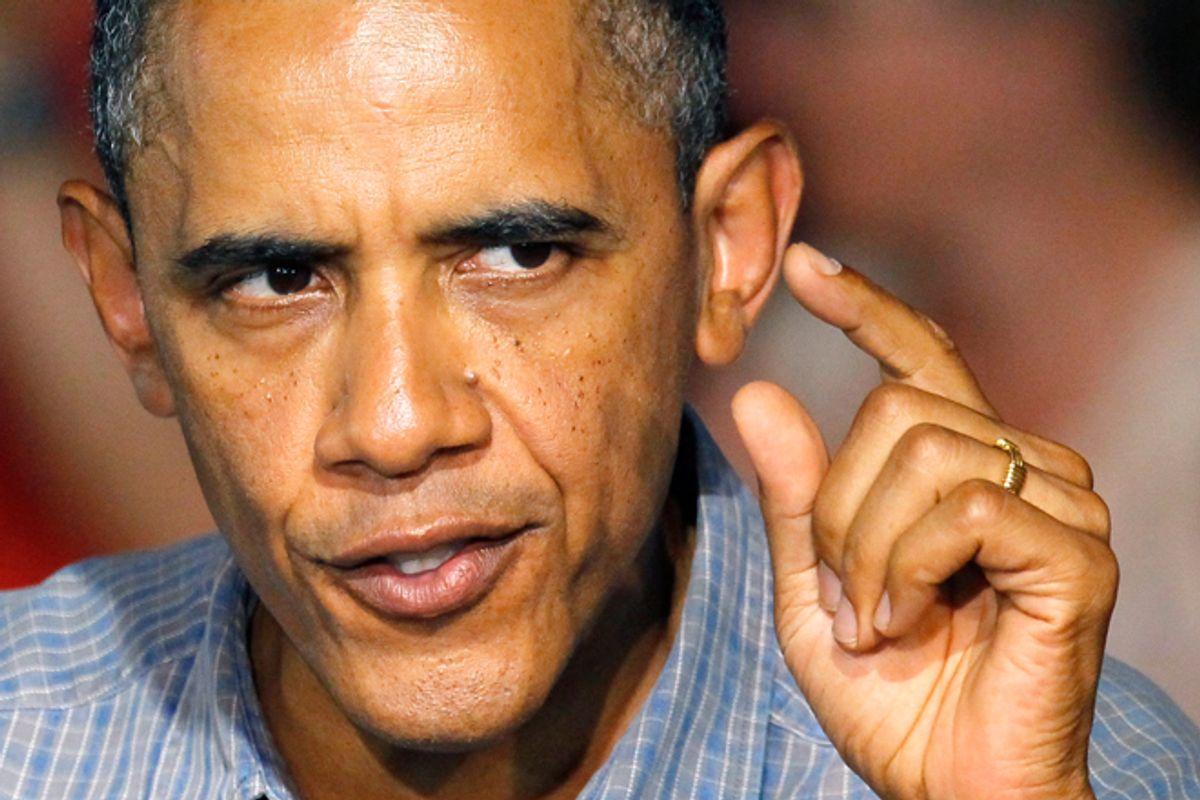 President Obama  (AP/Charles Rex Arbogast)