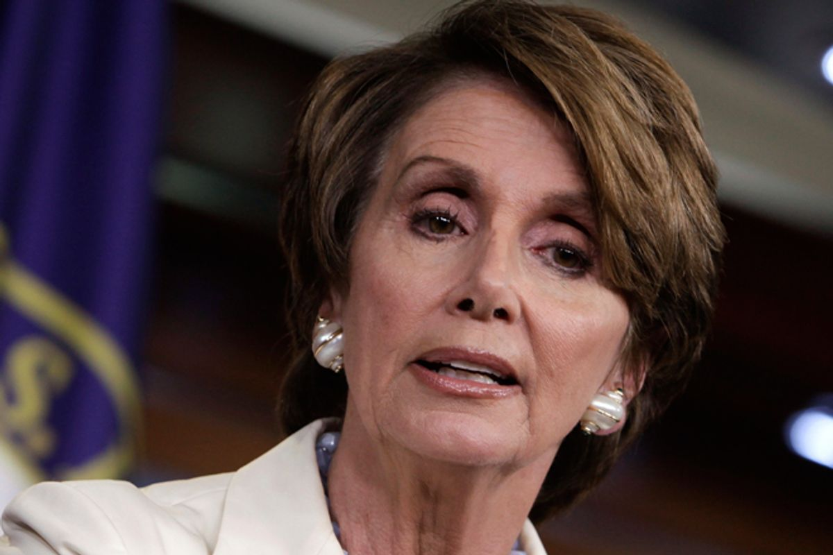 Nancy Pelosi       (Reuters/Yuri Gripas)
