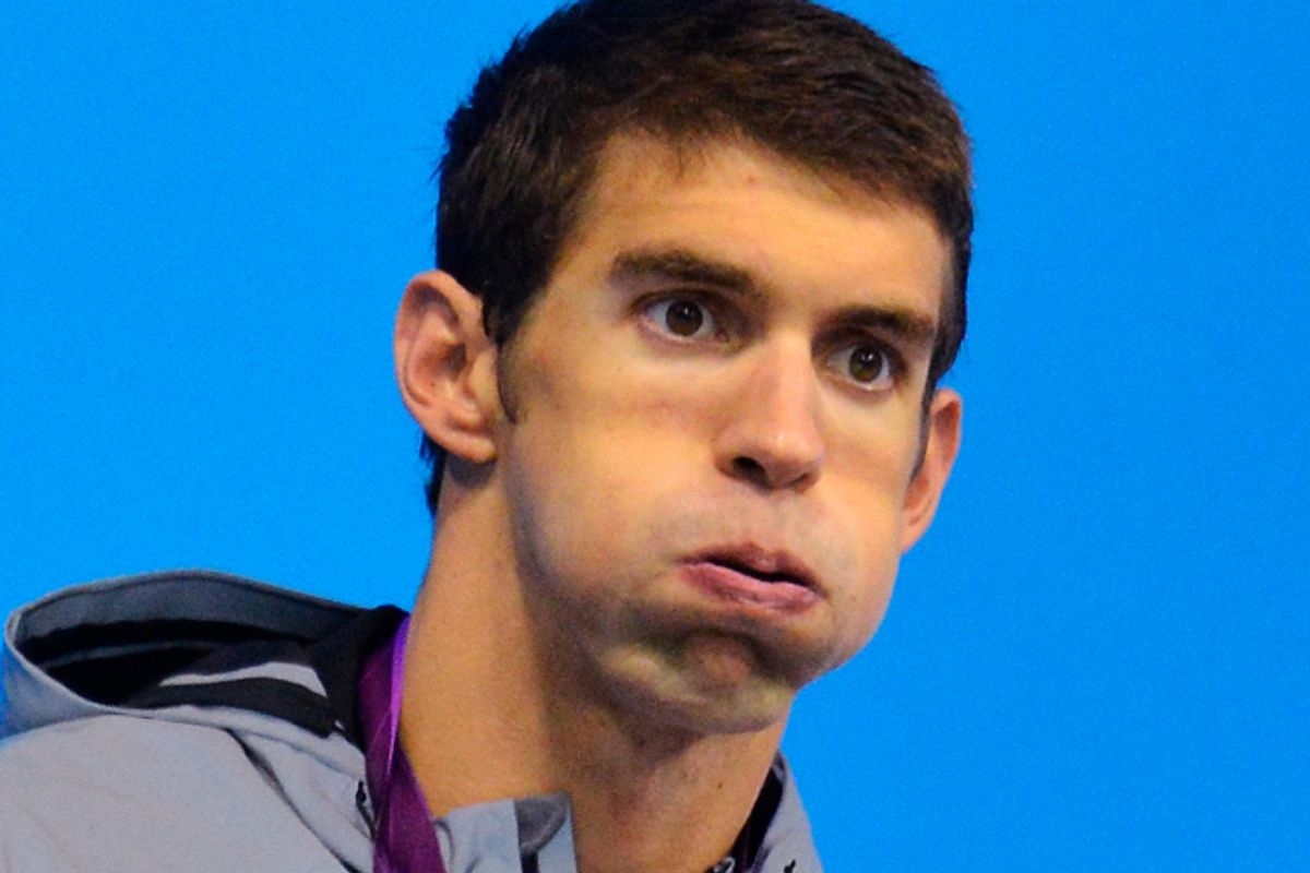 Michael Phelps     (Reuters/Toby Melville)
