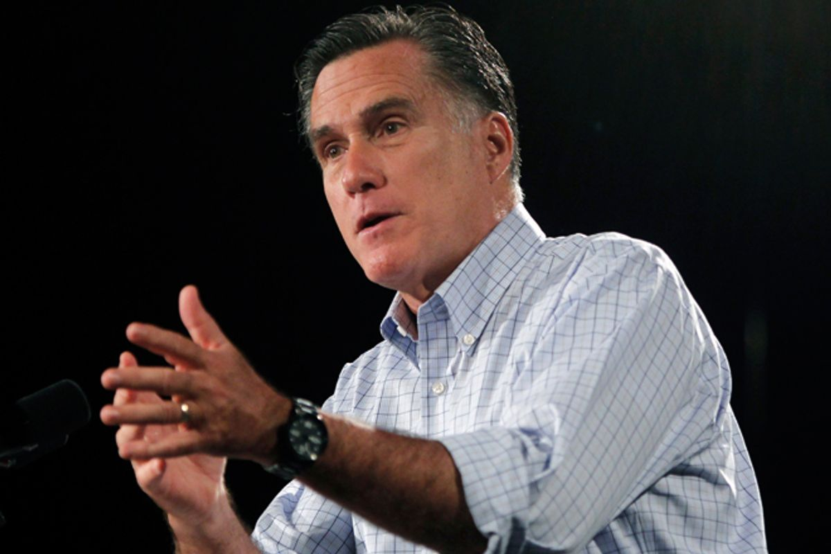 Mitt Romney     (Reuters/Jessica Rinaldi)
