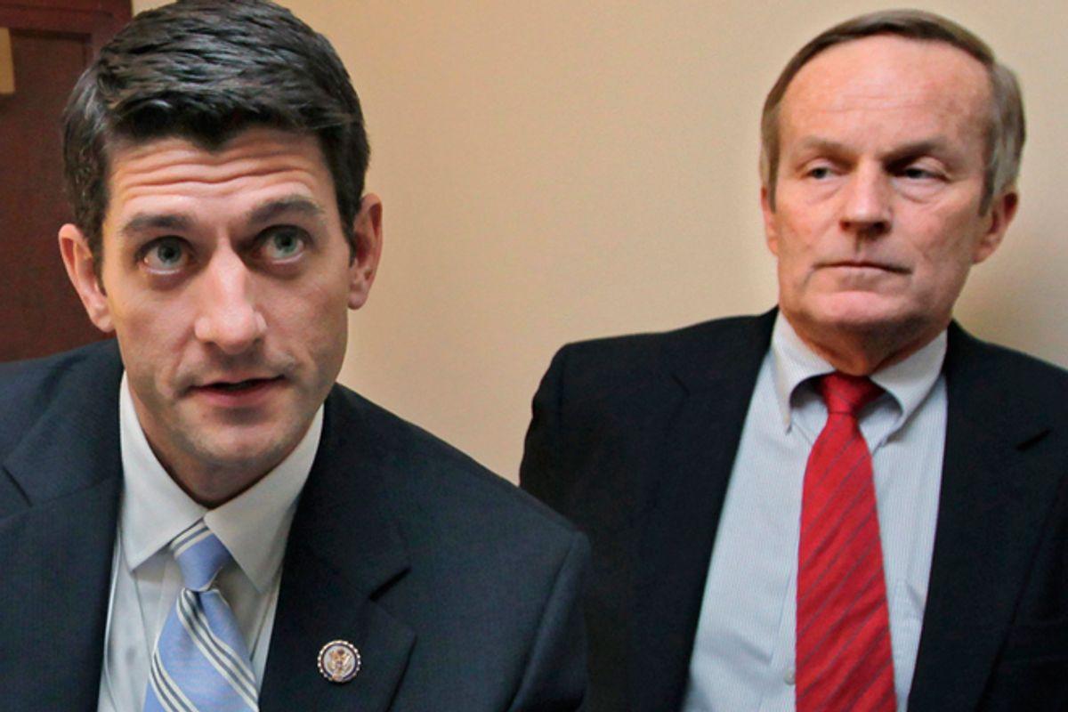 Paul Ryan and Todd Akin      (AP/J. Scott Applewhite)