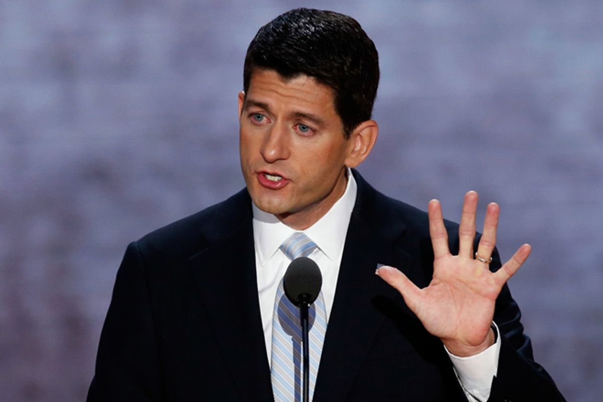 Paul Ryan  (Reuters/Mike Segar)