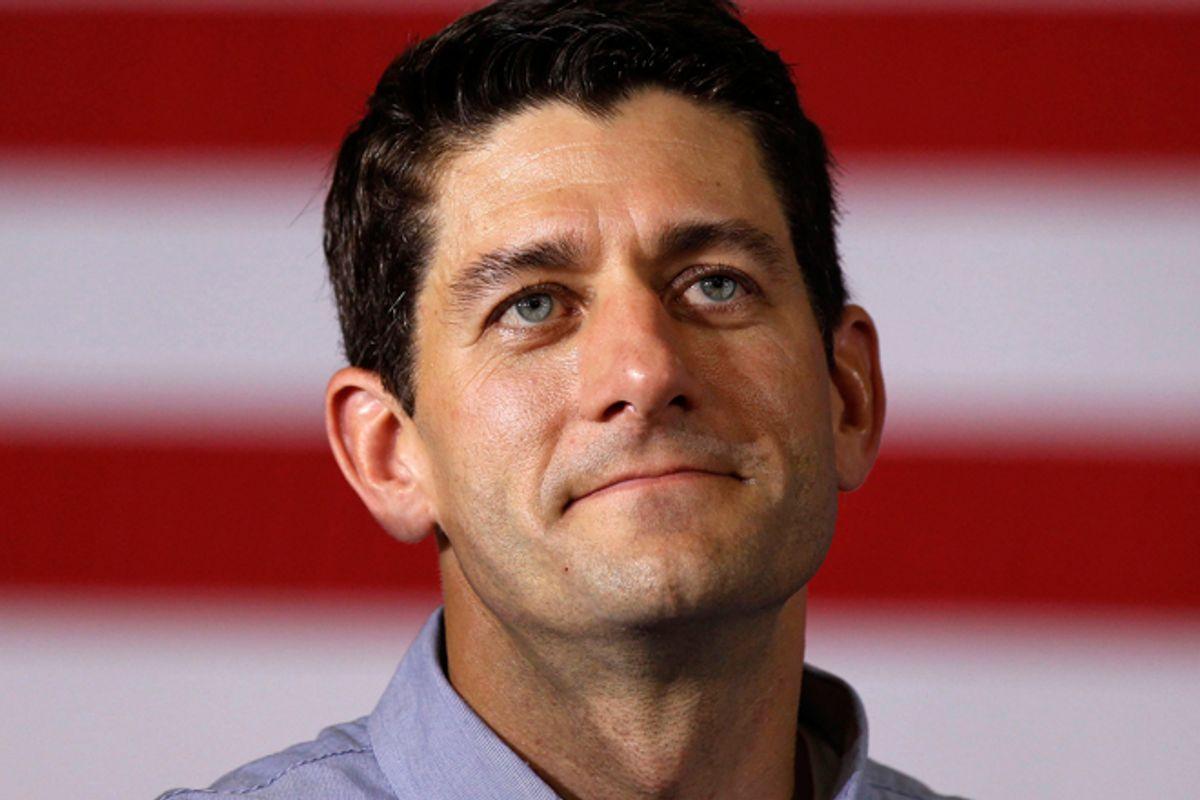 Paul Ryan      (Reuters/Larry Downing)