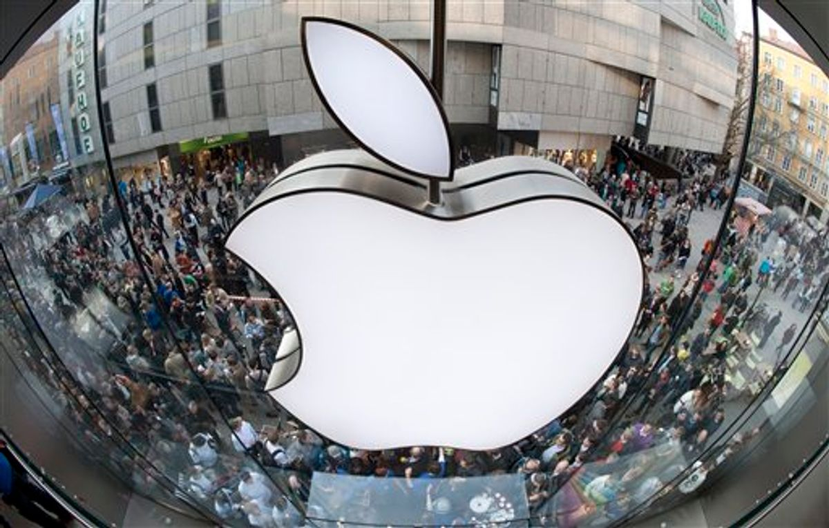 The Apple store in Munich   (AP/Lukas Barth)