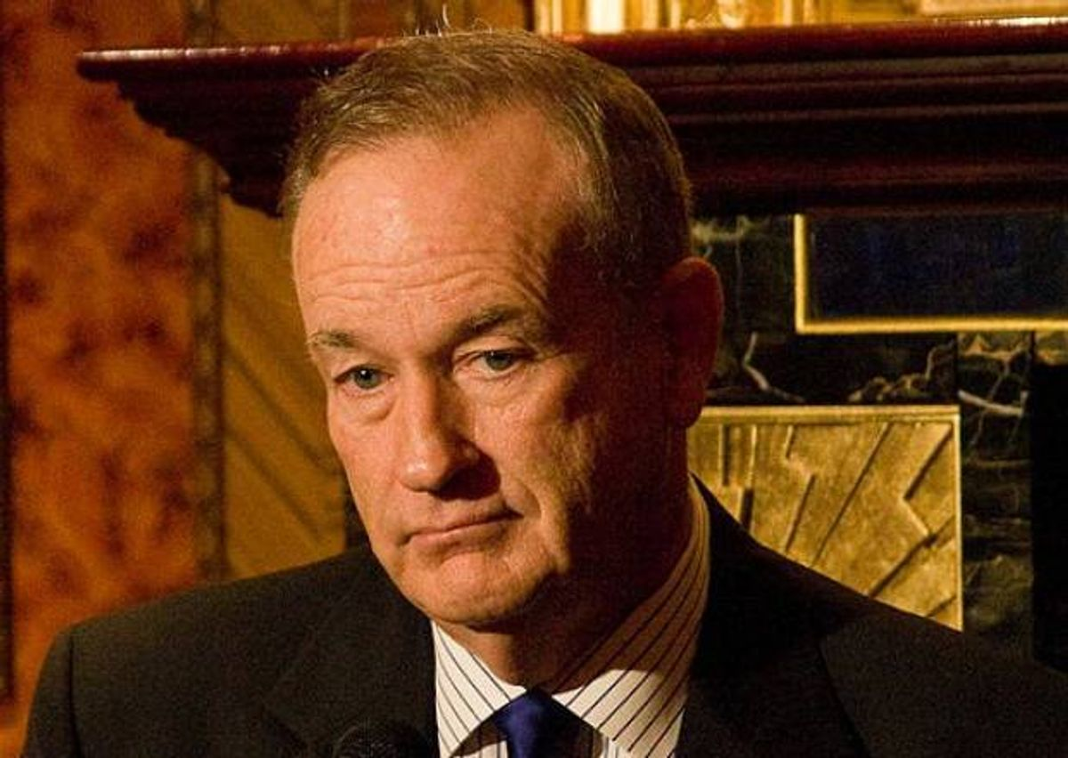Fox News host Bill O'Reilly.                       (Wikipedia)