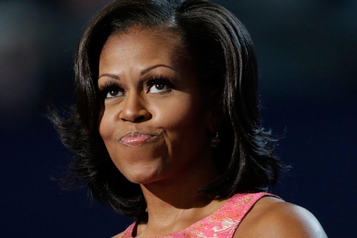 Michelle Obama      (AP/David Goldman)