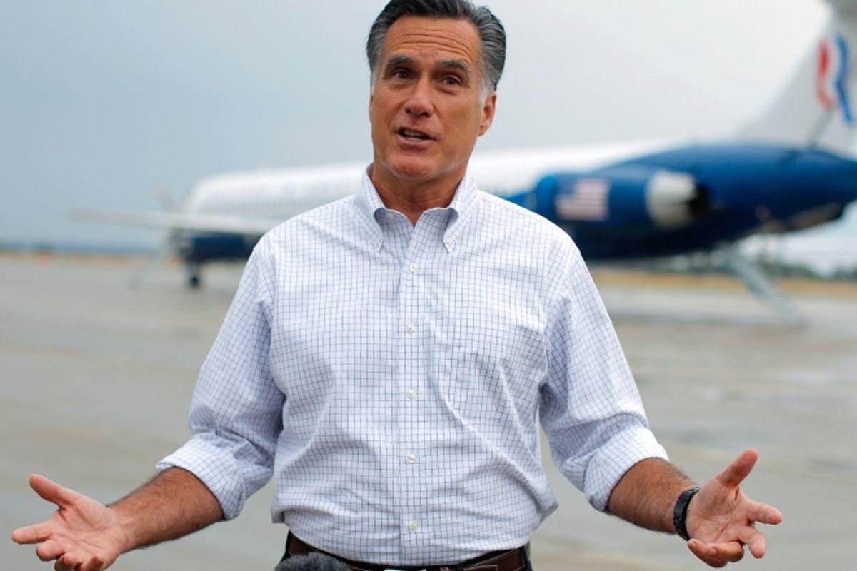 Mitt Romney    (Reuters/Brian Snyder)