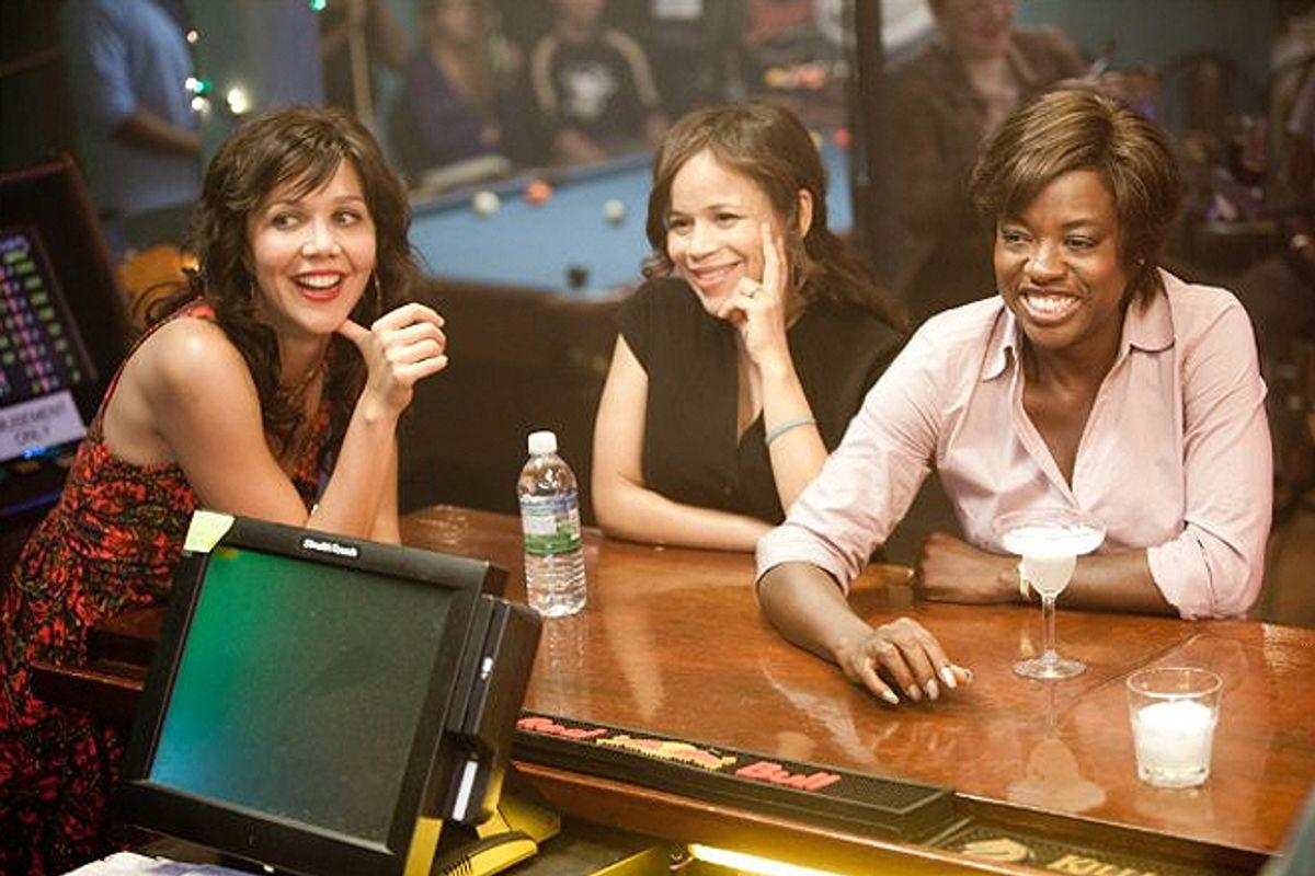 """Maggie Gyllenhaal, Rosie Perez and Viola Davis in """"Won't Back Down"""""""