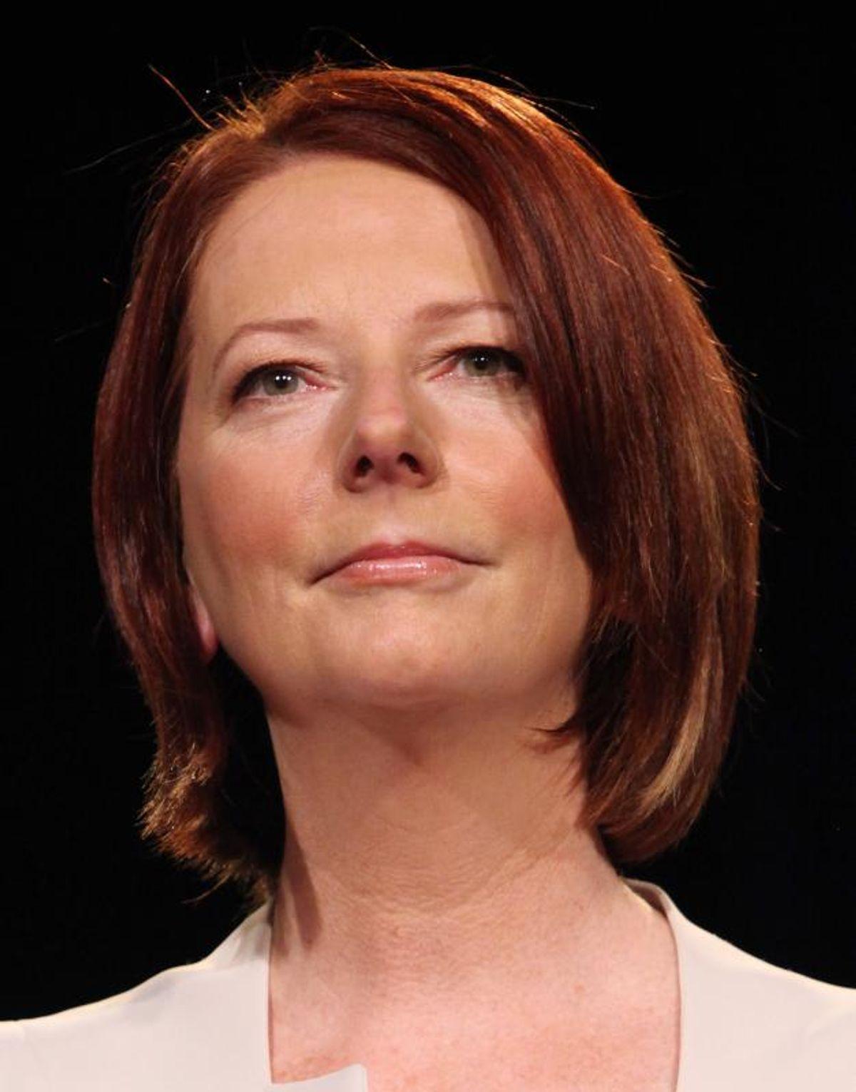 Australian PM Julia Gillard    (Troy Constable/Wikimedia)