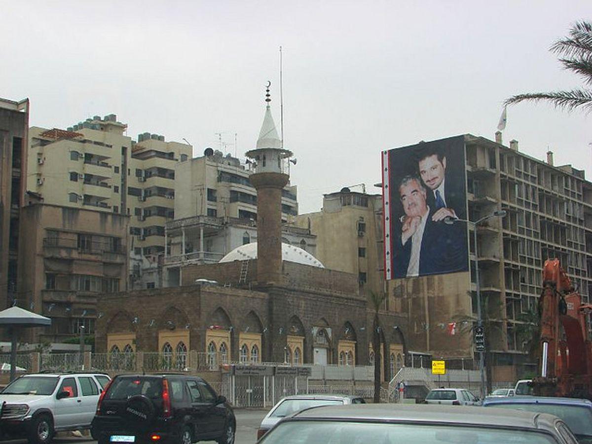 Beirut street scene (Wikimedia)