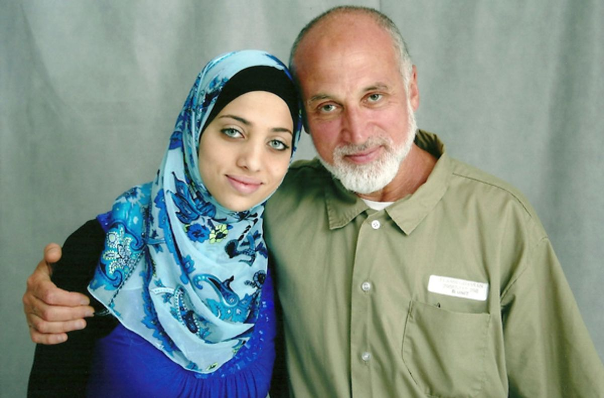 Ghassan Elashi with daughter Noor. Ghassan is serving a 65-year sentence in federal prison (courtesy of Elashi family via Sparrow Media)