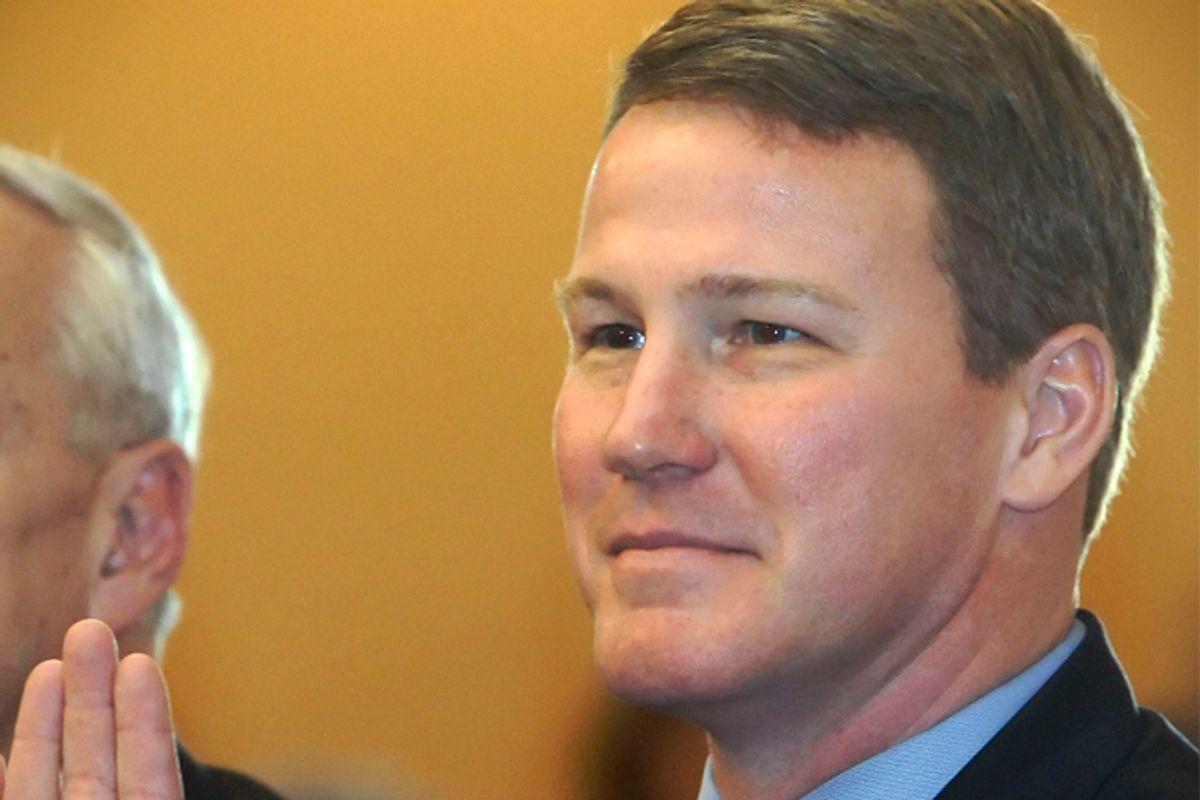 Jon Husted (R), Ohio Secretary of State.         (AP/Jay Laprete)