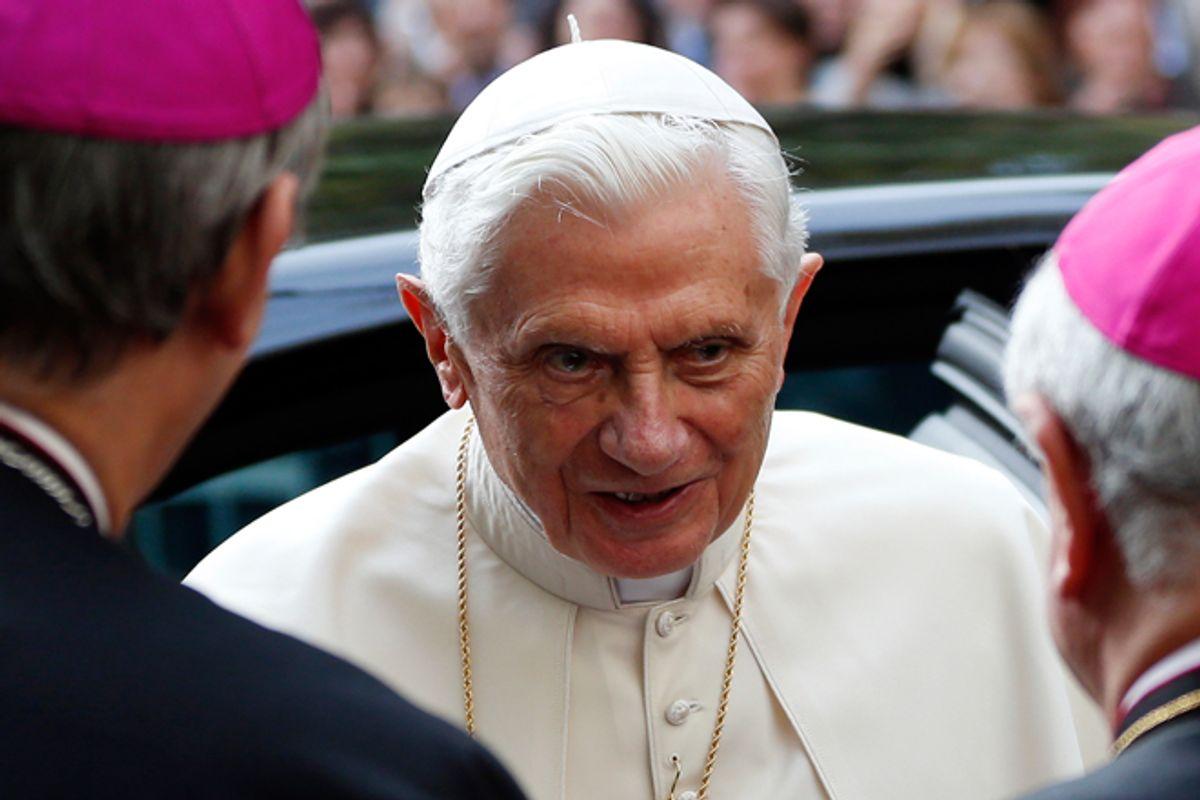 Pope Benedict XVI                 (Reuters/Alessandro Bianchi)