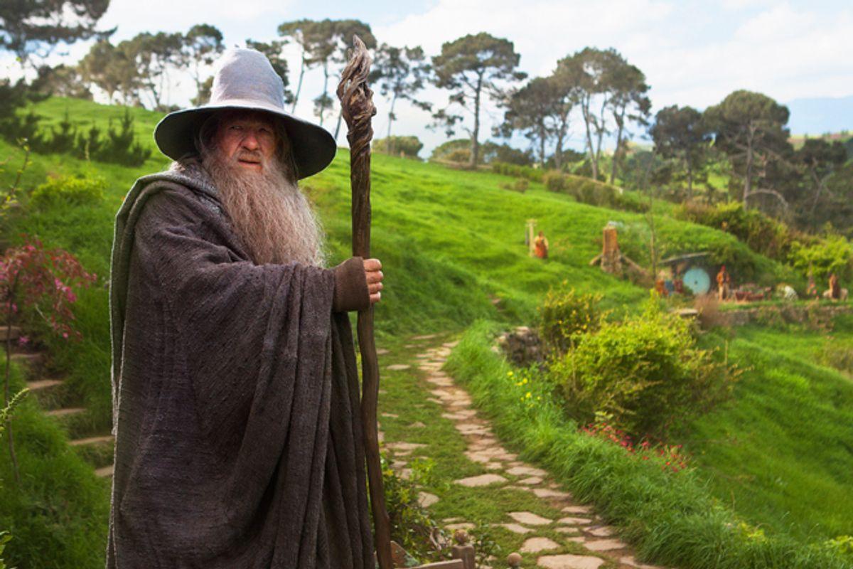 """Ian McKellen in """"The Hobbit: An Unexpected Journey"""""""