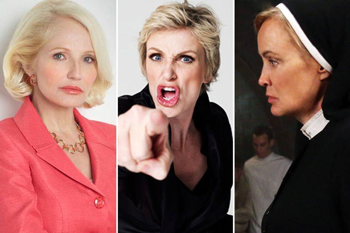 Ellen Barkin, Jane Lynch and Jessica Lange
