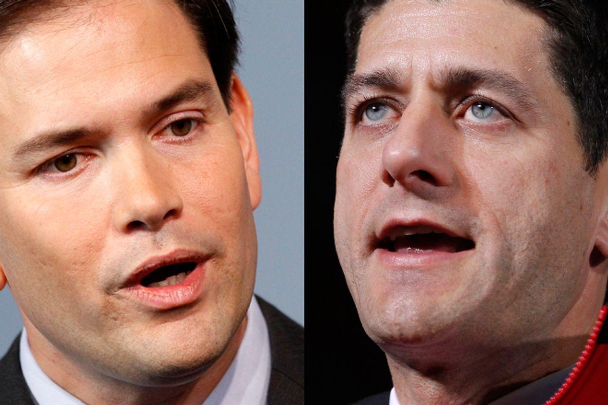 Marco Rubio and Paul Ryan        (AP)