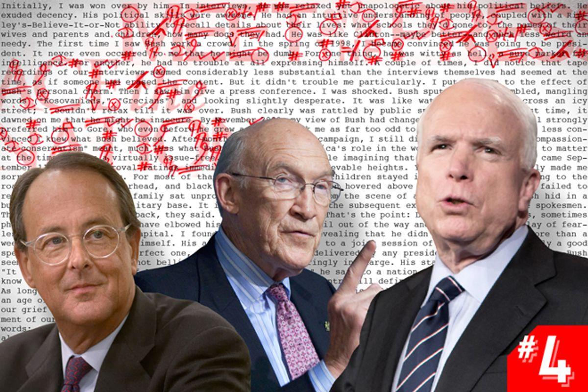 Erskine Bowles, Alan Simpson, John McCain   (AP/Evan Vucci/J. Scott Applewhite/Salon)