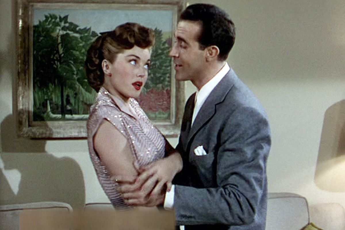 """Esther Williams and Ricardo Montalban in """"Neptune's Daughter"""""""