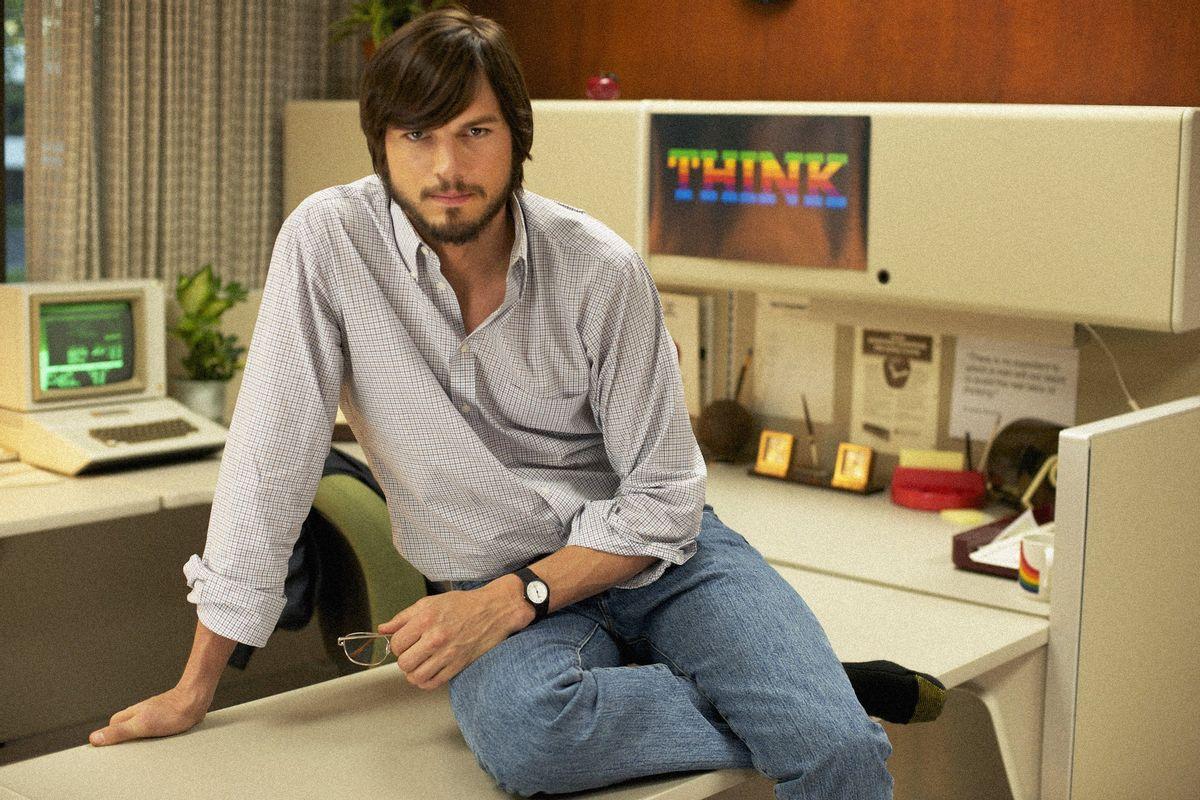 """Ashton Kutcher stars as Steve Jobs in the upcoming """"jOBS."""""""