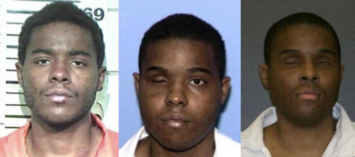 Andre Thomas, gouged out both his eyes, facing death       (Texas Department of Criminal Justice)