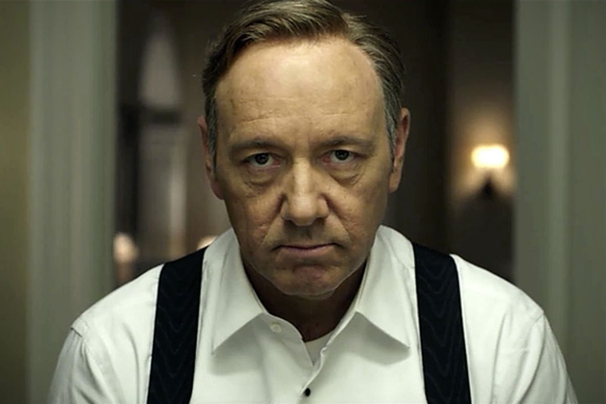 """Kevin Spacey in """"House of Cards"""""""