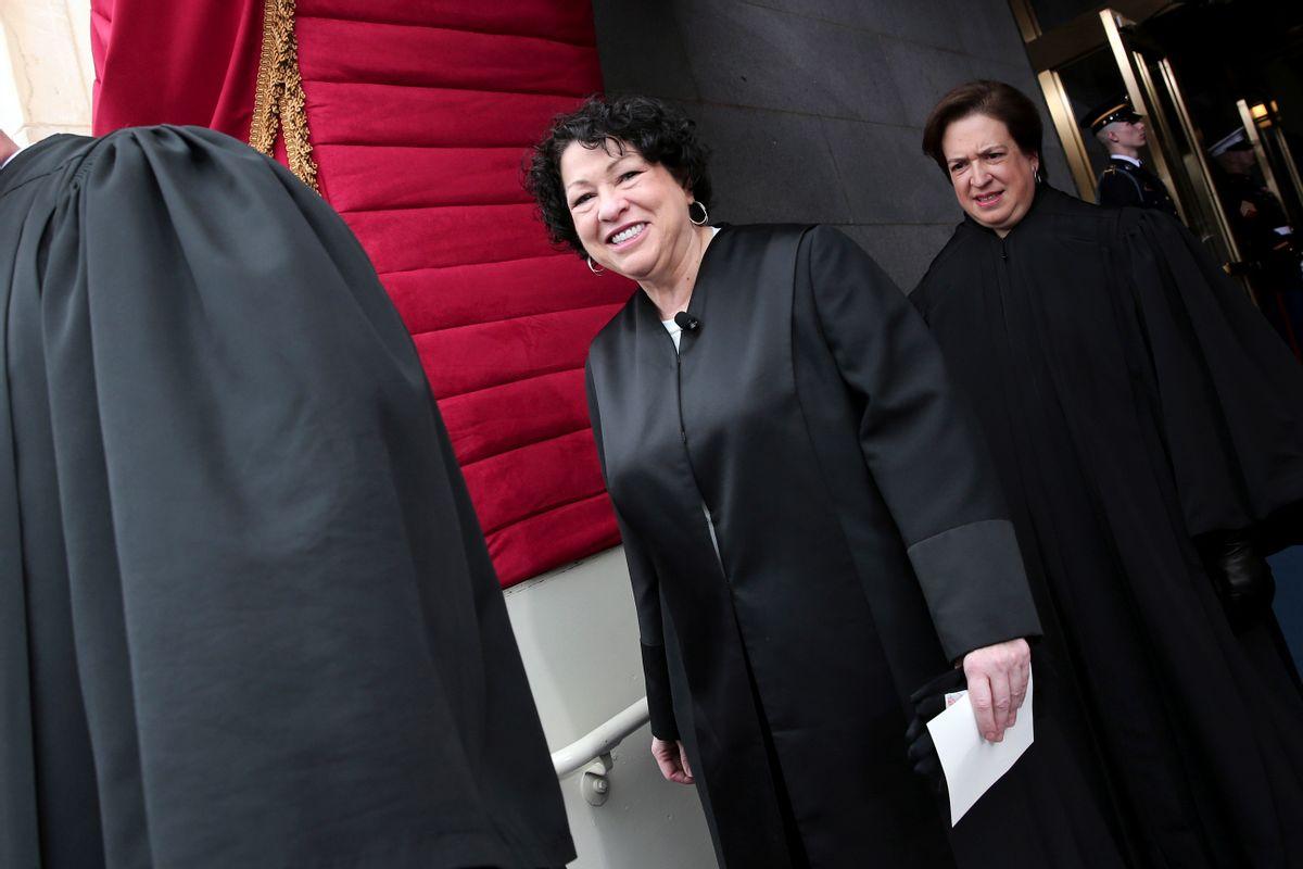 Supreme Court Justice Sonia Sotomayor       (AP/Win McNamee)