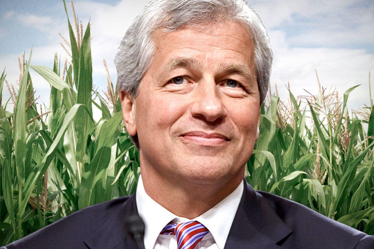 JPMorgan Chase CEO Jamie Dimon                                 (AP/J. Scott Applewhite/<a href='http://www.shutterstock.com/gallery-707587p1.html'>smereka</a> via <a href='http://www.shutterstock.com/'>Shutterstock</a>/Salon)