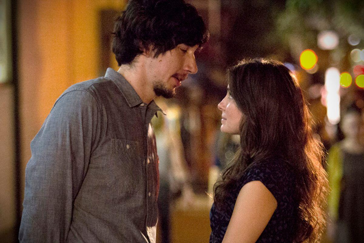 "Adam Driver and Shiri Appleby in ""Girls""        (HBO)"