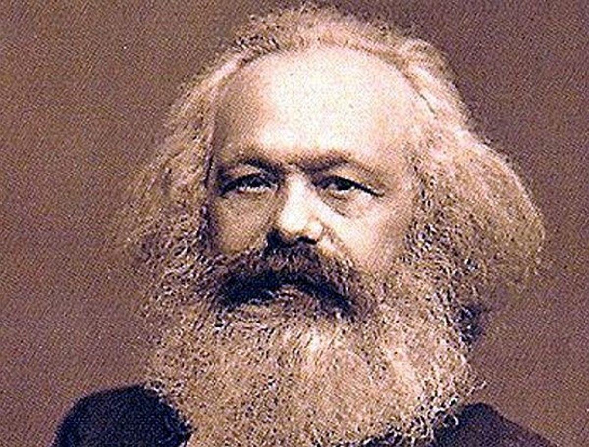 Karl Marx    (Wikimedia Commons)