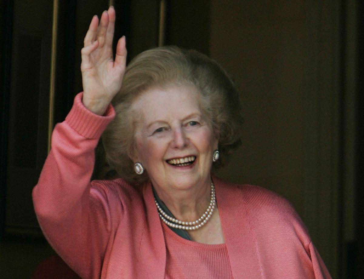 Former British Prime Minister Margaret Thatcher     (AP/Lefteris Pitarakis)