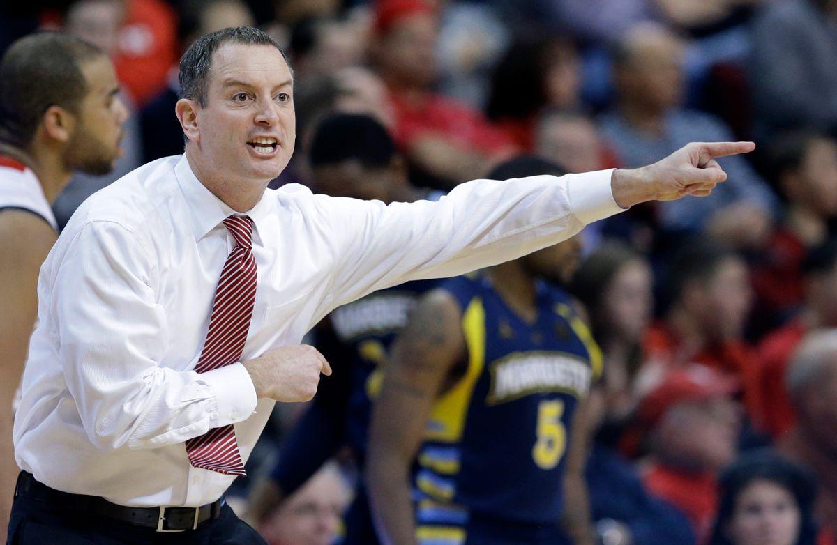 Rutgers coach Mike Rice     (AP/Mel Evans)