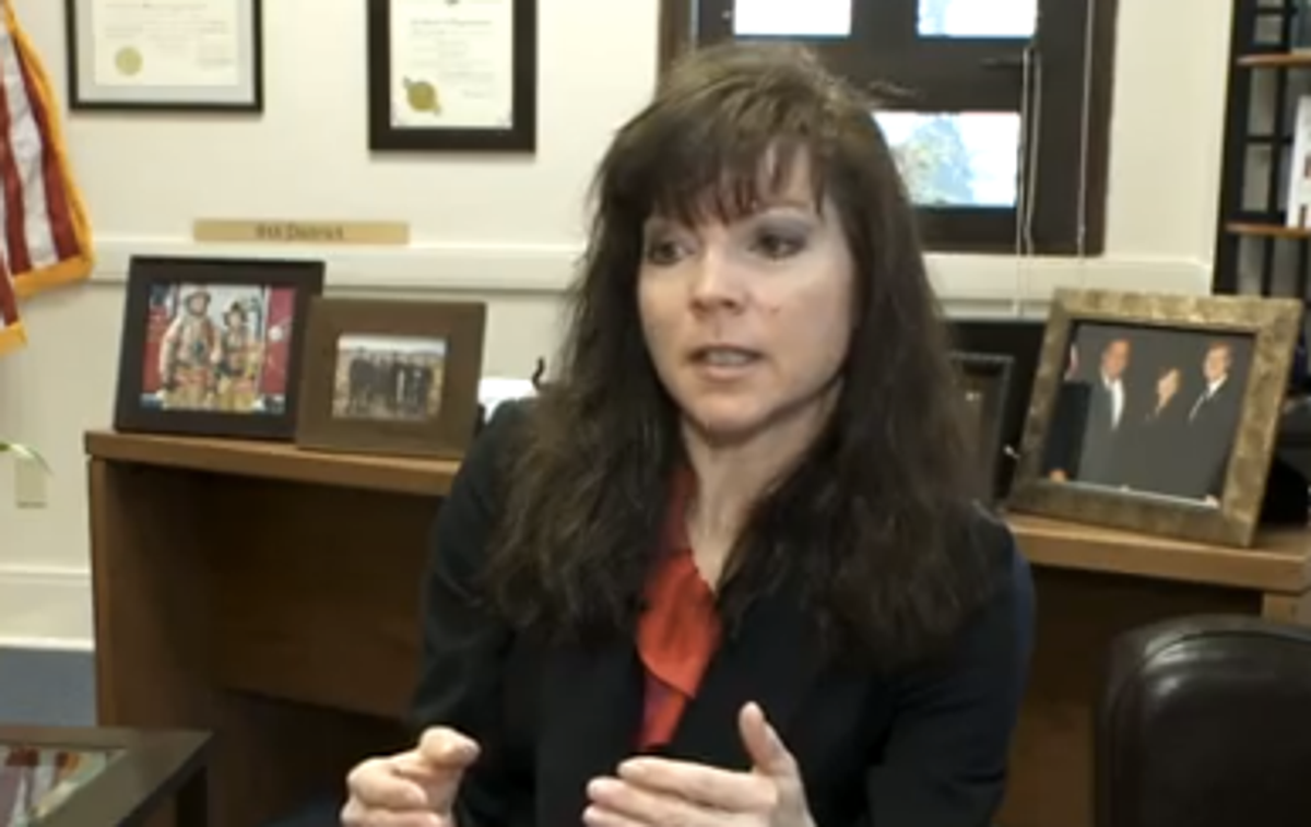 Republican state. Sen. Sharon Brown (YouTube)