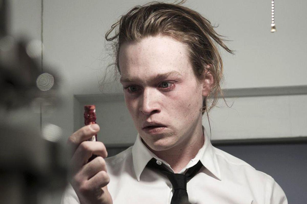 "Caleb Landry Jones in ""Antiviral"""