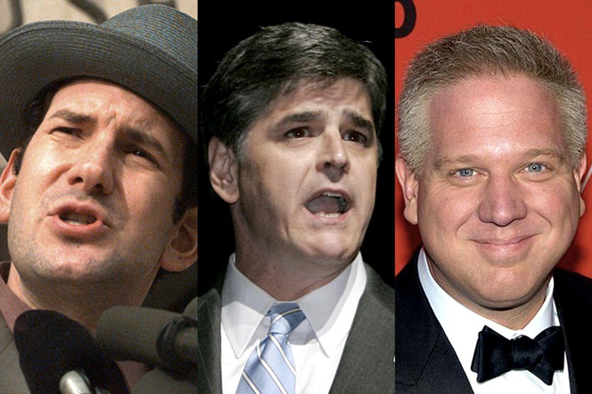 Matt Drudge, Sean Hannity, Glenn Beck             (AP/Brian K. Diggs/Douglas C. Pizac/Wikimedia/David Shankbone/Salon)