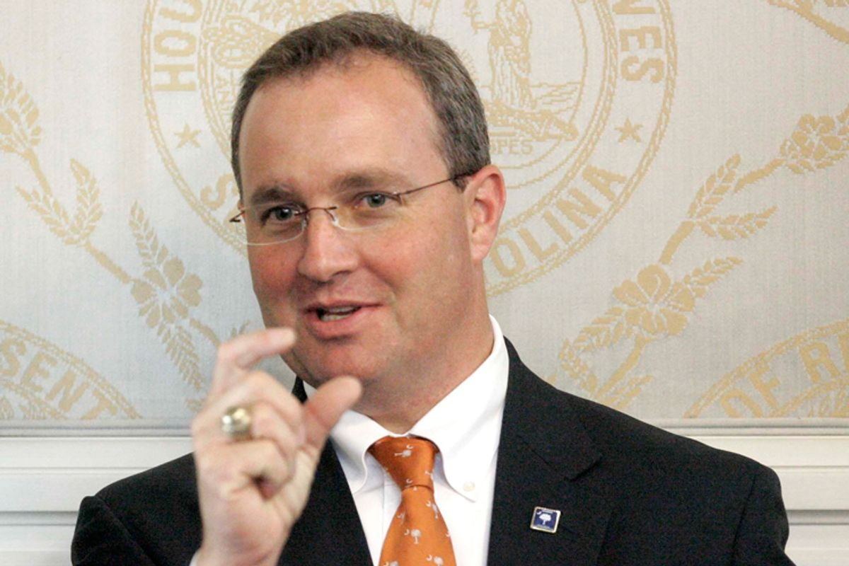 South Carolina state Rep. Jeff Duncan, R.            (AP/Mary Ann Chastain)