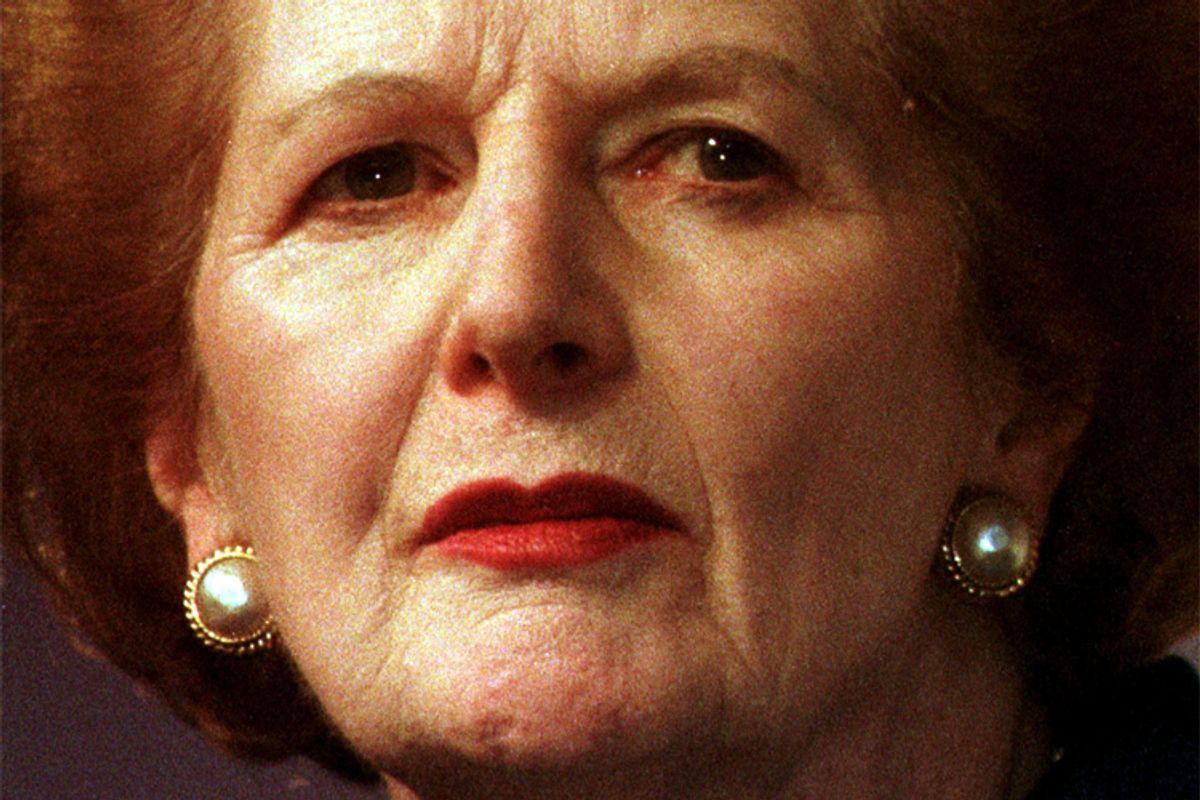 Margaret Thatcher    (Reuters)