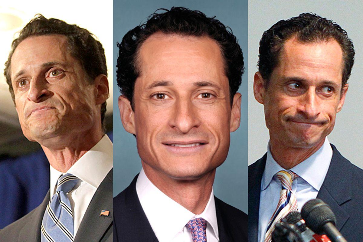 Anthony Weiner (Reuters/Brendan McDermid/Wikimedia/Shannon Stapleton)