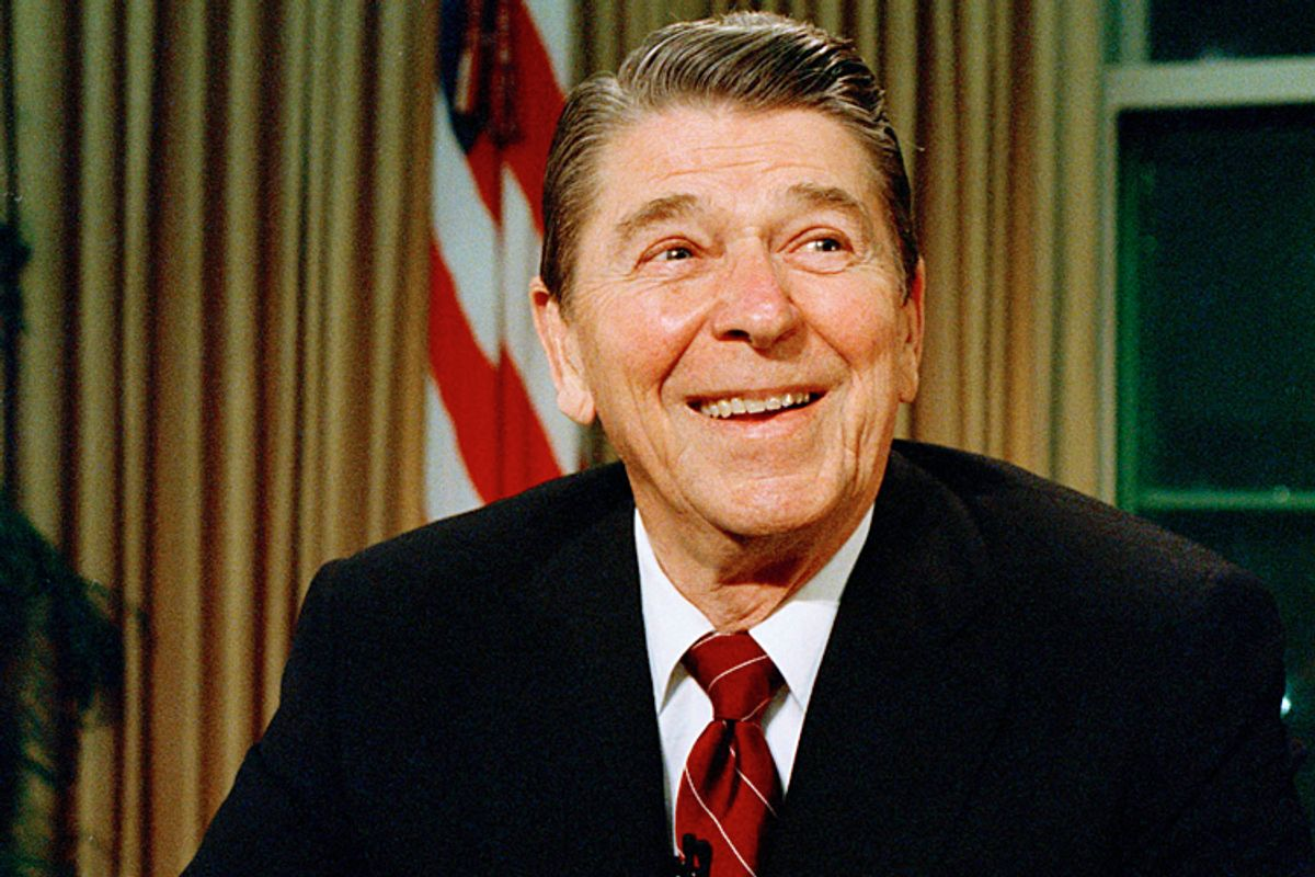 President Ronald Reagan        (AP/Doug Mills)