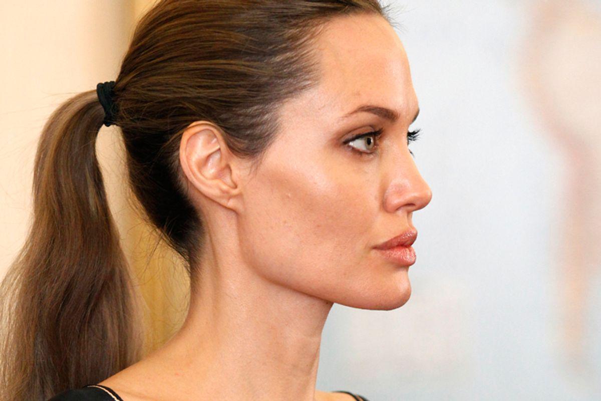 Angelina Jolie      (AP/Umit Bektas)