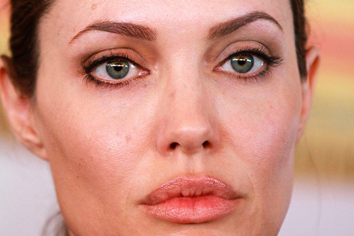 Angelina Jolie       (Reuters/Muhammad Hamed)