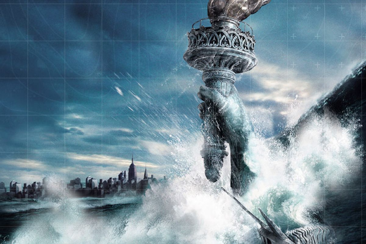 """The effects of global warming as dramatized in """"The Day After Tomorrow"""""""