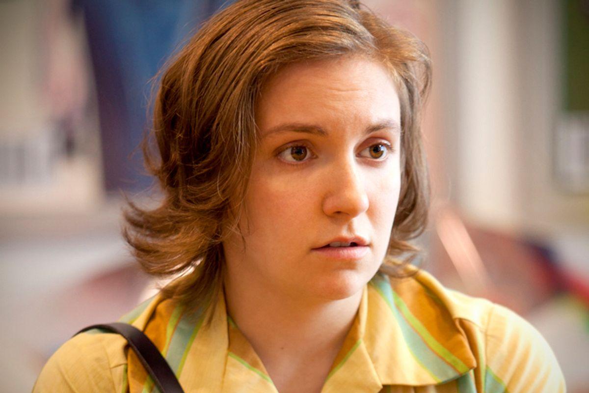 """Lena Dunham in """"Girls""""              (HBO)"""