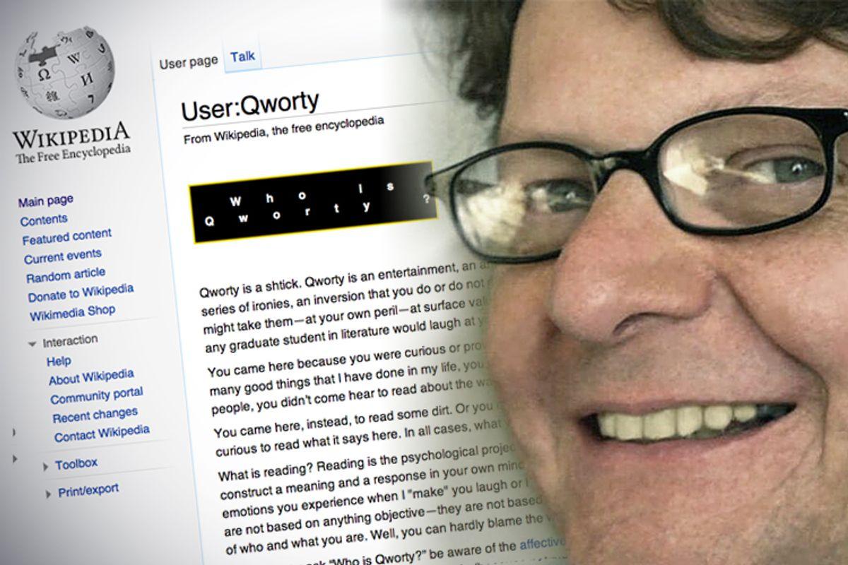 "Robert Clark Young, aka ""Qworty""   (Wikimedia/Facebook/Salon)"