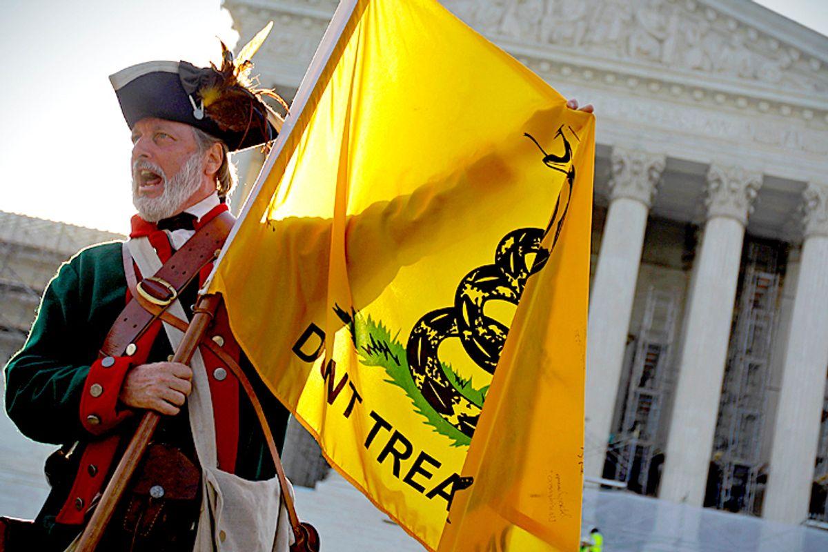 Tea Party supporter William Temple                   (AP/David Goldman)
