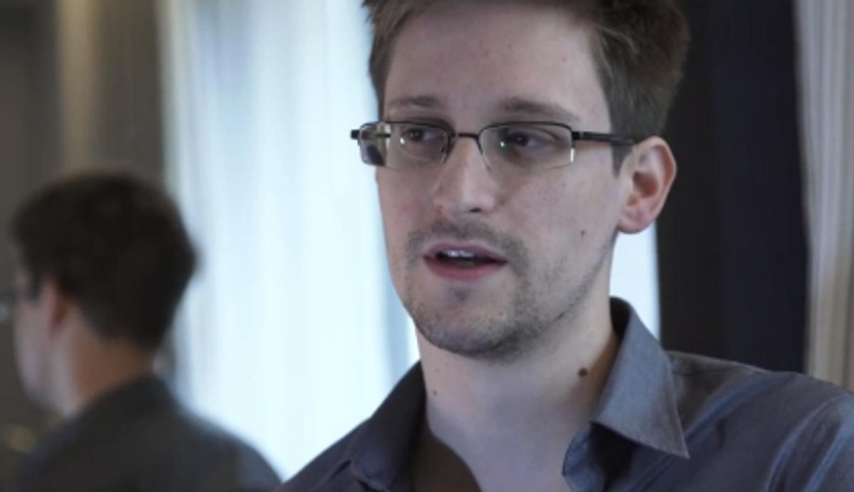 Edward Snowden (Guardian screen grab)