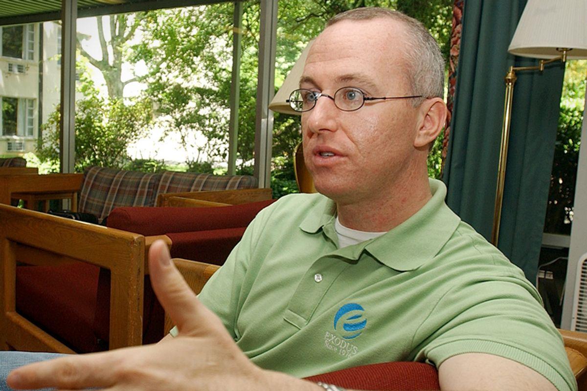 Alan Chambers, President of Exodus International    (AP/Alan Marler)