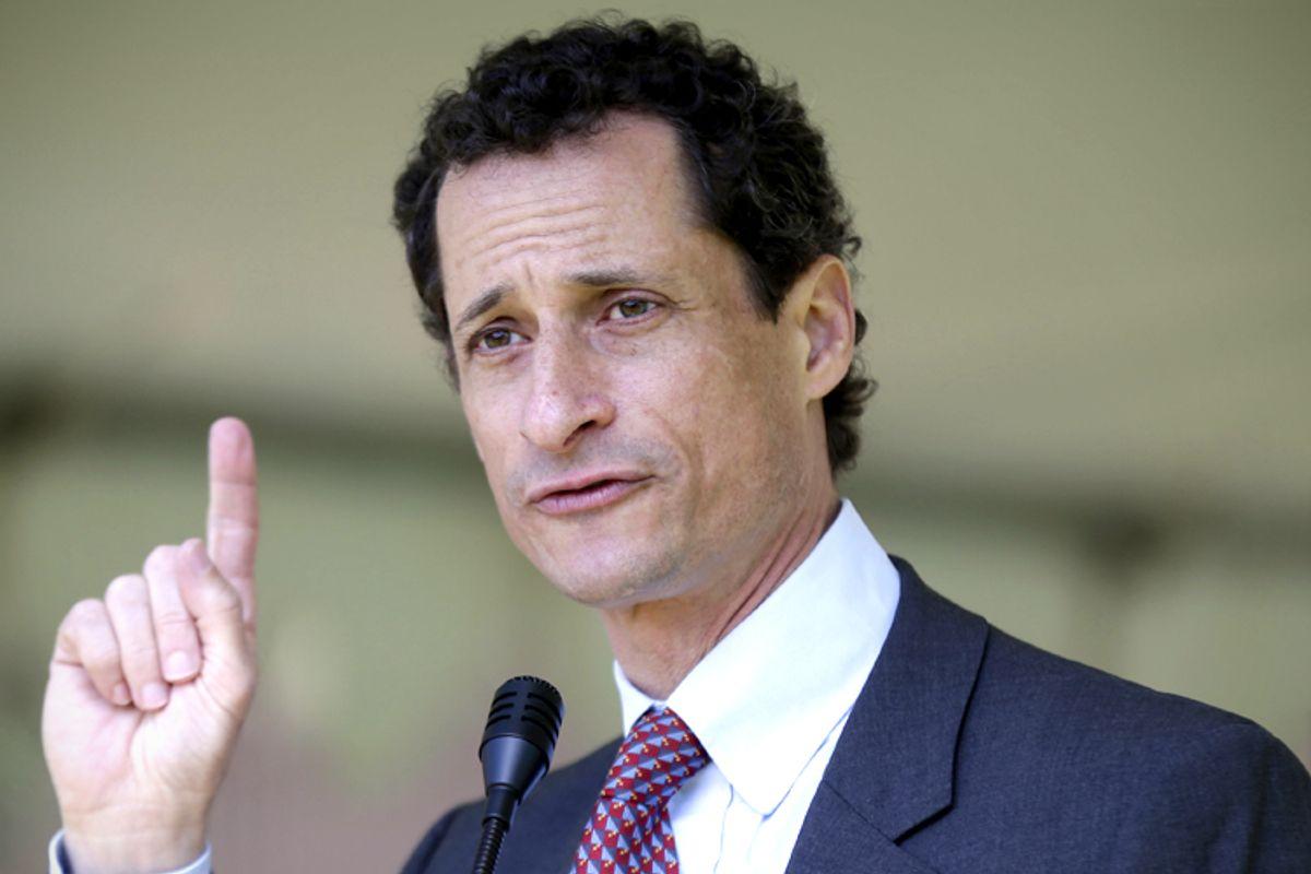 Anthony Weiner     (AP/Seth Wenig)