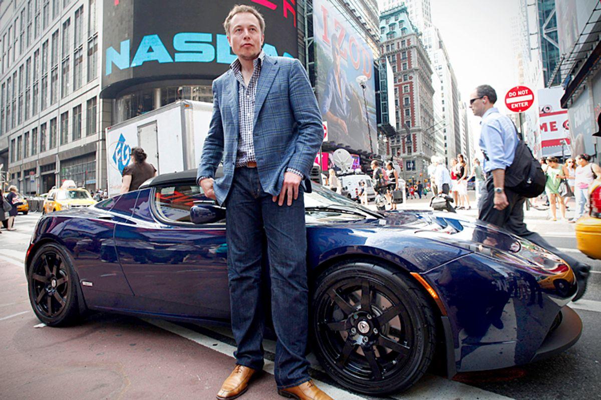Elon Musk, CEO of Tesla Motors        (AP/Mark Lennihan)