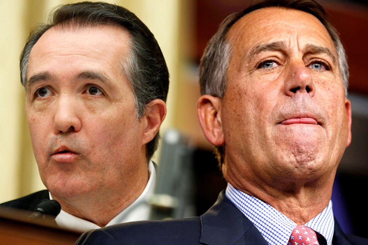 Trent Franks, John Boehner                      (AP/Manuel Balce Ceneta/Reuters/Kevin Lamarque)
